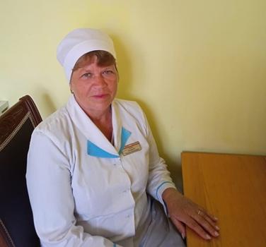 Кучеренко Татьяна Николаевна – младшая медицинская сестра стаж 40 лет.
