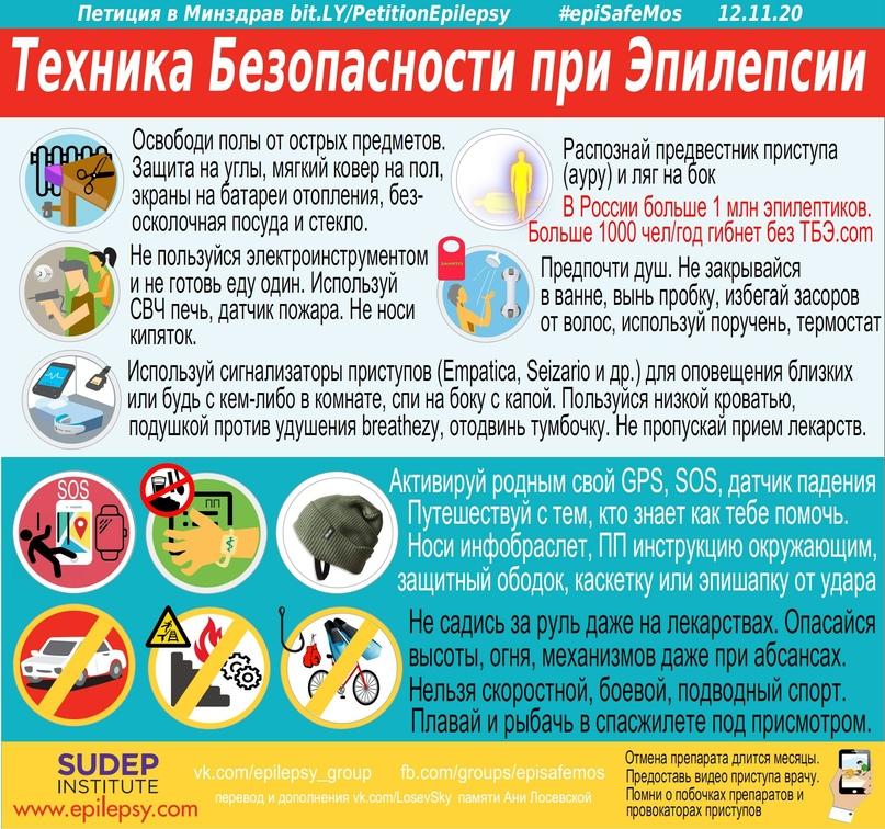 Эпилепсия – рекомендации по профилактике и безопасности, изображение №2