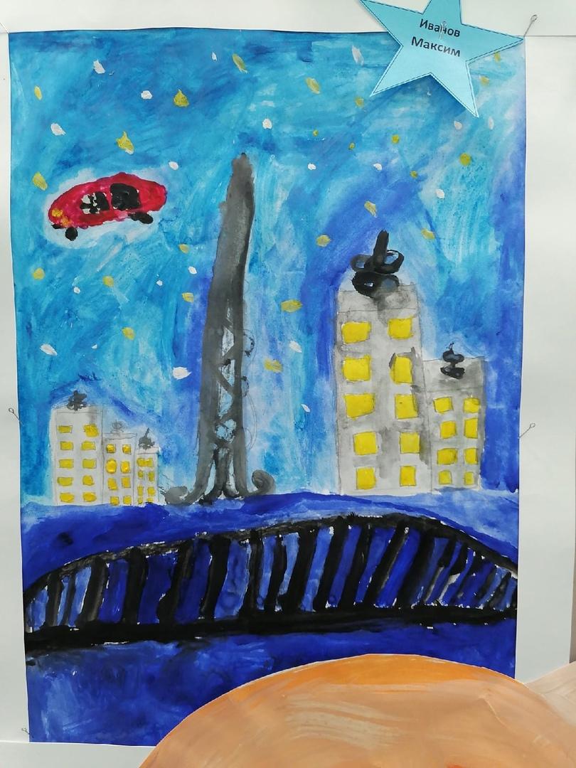 Выставка рисунков, посвящённая 60 -летию полёта в космос Юрия Гагарина, изображение №12