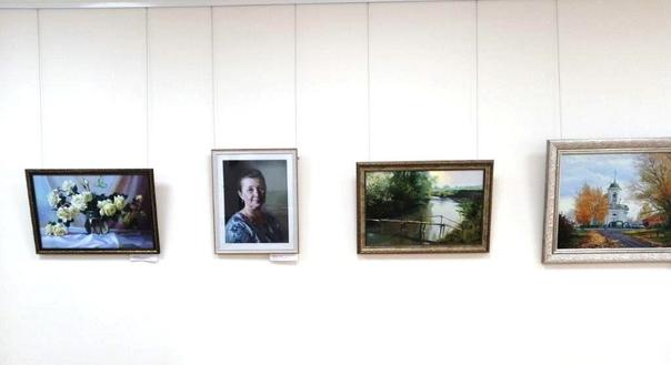 Выставка живописи в залах Порецкой народной картинной галереи, посвященная 430-летию села Порецкое