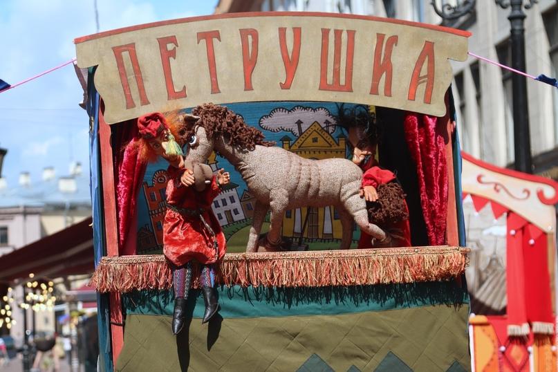 Спектакль «Петрушкина Комедия» Театр кукол «Диво» (Иркутск)