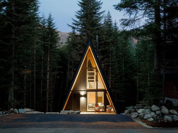 А-образный дом Snoqualmie Pass