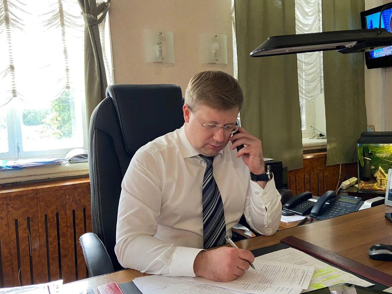 Глава района Денис Фадеев провёл личный приём петровчан