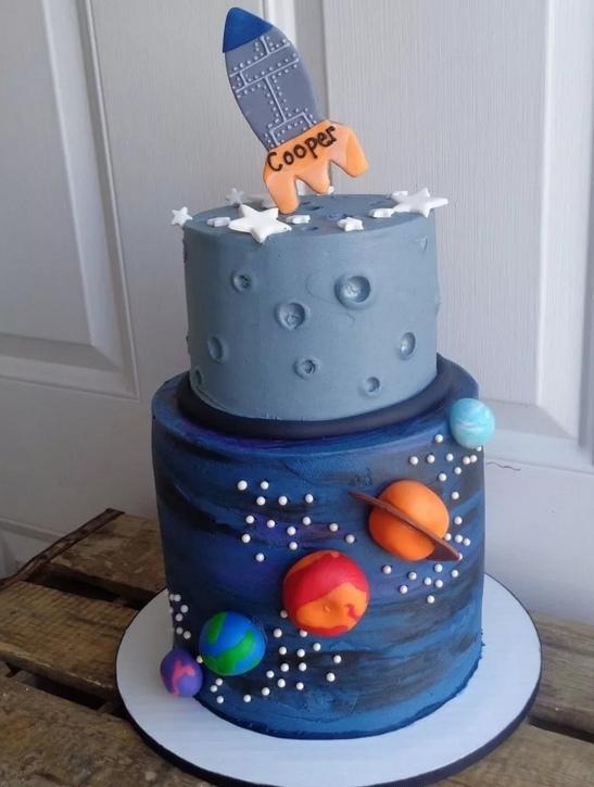 Как сделать торт «Ракета»