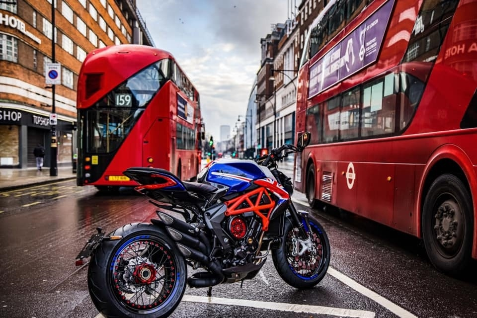 Мотоцикл MV Agusta London Dragster 2021