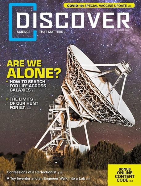 Discover. December 2020