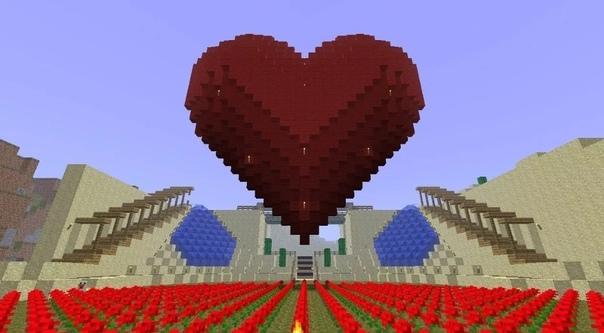 майнкрафт мод сердечки #4