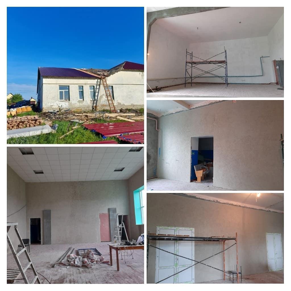 В доме культуры села Таволожка Петровского района идёт ремонт