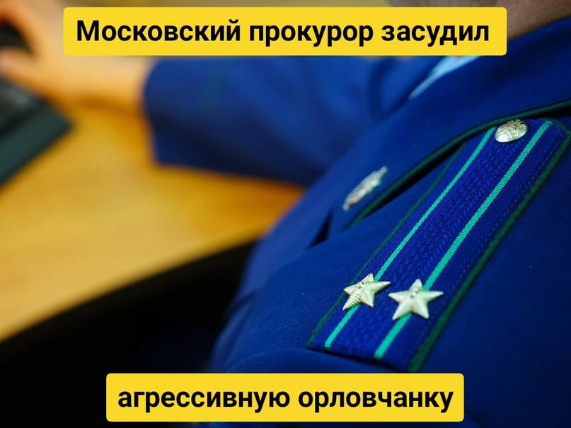 Московский прокурор засудил агрессивную орловчанку