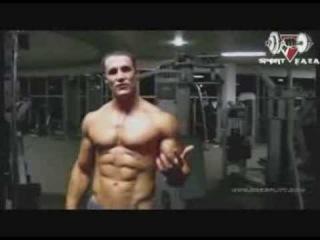 Грег Плитт - тренировка спины (полная дублированная версия) []