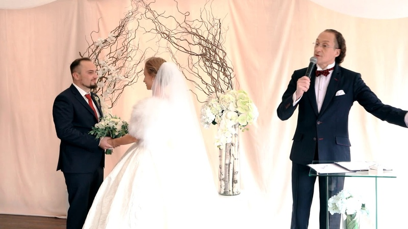 ES. Шуточные КЛЯТВЫ на свадьбе брачный контракт :)
