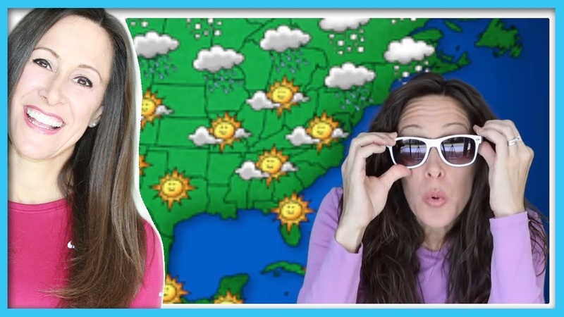 Weather Song for Kids Check the Weather Snow Rain Wind Cold Patty Shukla