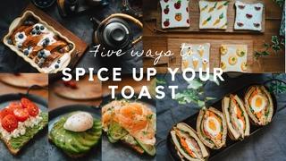 #2 Five Ways to Spice up Your Toast   Ăn Sáng Bánh Mì Không Chán   Monte Cristo, Wanpaku... {SUB}
