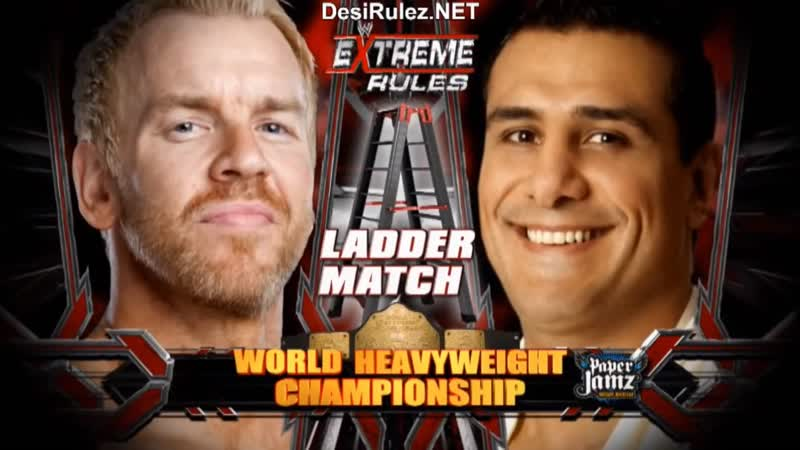 WWE Extreme Rules 2011 Эль Грандэ Патрон пр. Кристиана eng 720HD