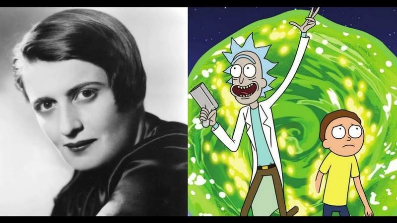 Ayn Rand reads the Rick and Morty Copypasta Speech Synthesis