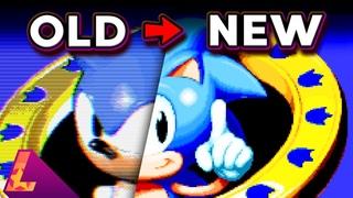 Я перерисовал три классические игры в стиль Sonic Mania