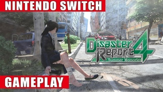 Disaster Report 4: Summer Memories Nintendo Switch Gameplay