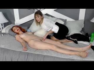 Kendra James and Reagan Lush - Sleeping Beauty - Porno, Footfetish, Lesbian, Porn, Порно