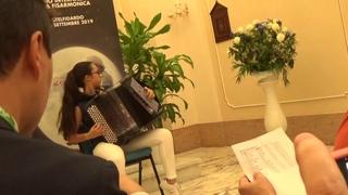 Inês Faria (Bordeira) interpreta L`aquilon () em Itália - 19Set2019