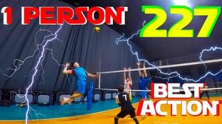 Волейбол от первого лица | POV | VOLLEYBALL FIRST PERSON | BEST ACTION | Setter | 227