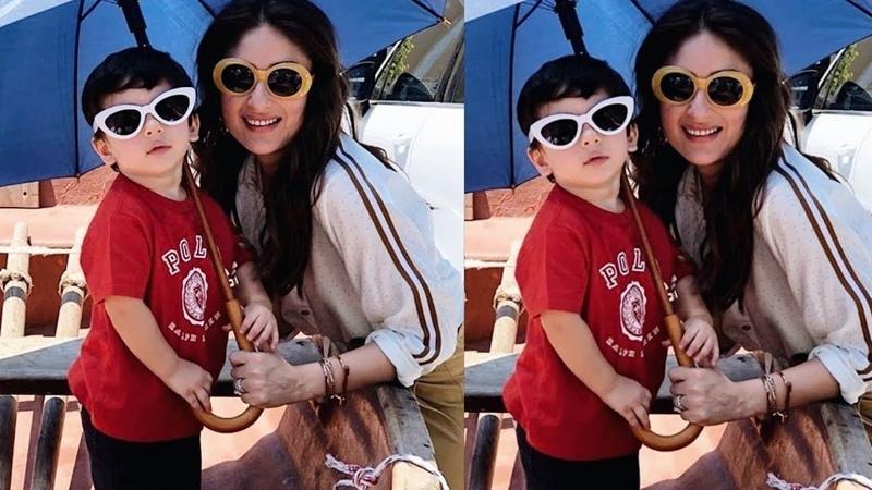 Taimur Ali Khan is all Swagy copy of mom Kareena Kapoor on his birthday celebrations in CapeTown