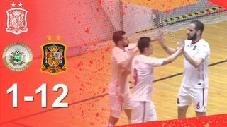 RESUMEN | Letonia 1-12 España | Fase de Clasificación para el Europeo 2022