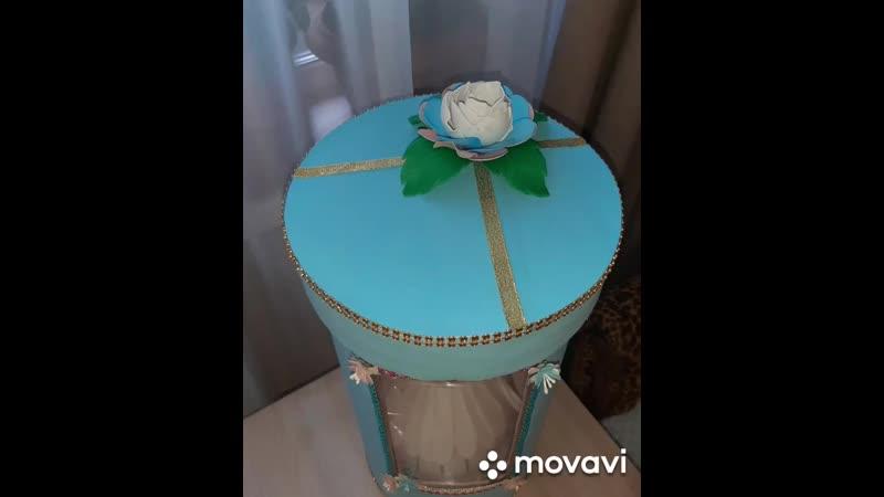 Светильник балерина Ч 2 коробка mp4
