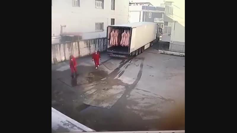 Мясовоз устал