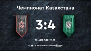 Актобе 3:4 Атырау | Плей-офф Чемпионата Казахстана 20/21| | Игра престолов
