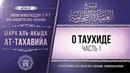 Комментарий к «Акыда ат-Тахавийя». Урок 11. О таухиде (часть 1) |