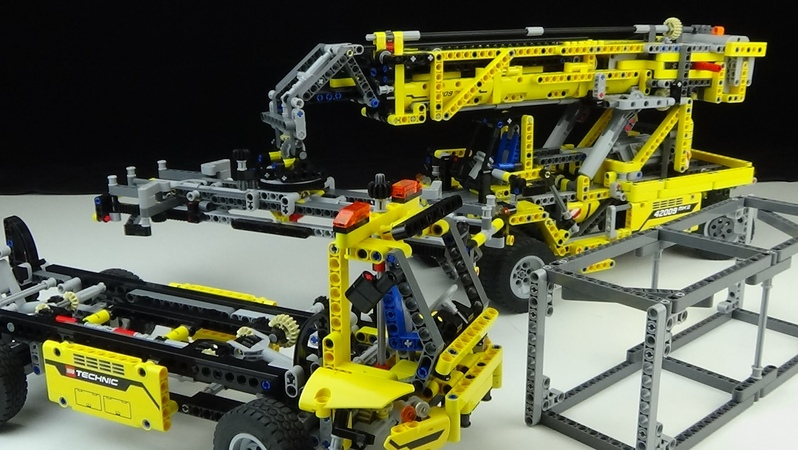 Lego® Technic 42009 B Modell Container Teleskop Lader Review