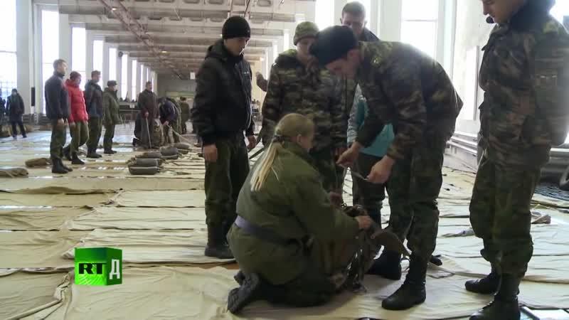 Женский батальон РГВВДКУ 17 серия