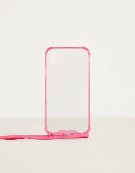 Чехол для iPhone XR со шнурком