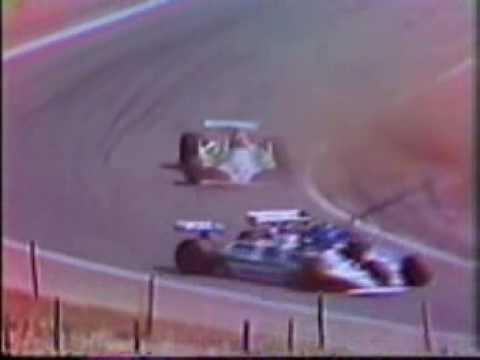 1980 Jarama Accidente entre Jacques Laffite Emilio de Villota y Carlos Reutemann