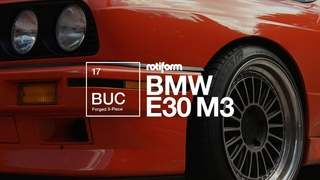 Rotiform BUC | BMW E30 M3 | 4K