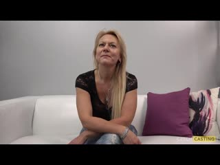 Experienced mature blonde radka decided to become a pornstar because she likes to suck cocks