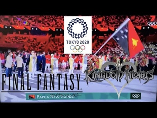 FINAL FANTASY & KINGDOM HEARTS MUSIC IN THE 2021 TOKYO OLYMPICS OPENING CEREMONY