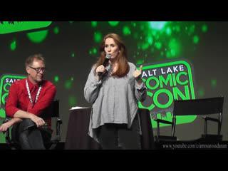 Панель Кэтрин на конвенции «Salt Lake Comic Con»