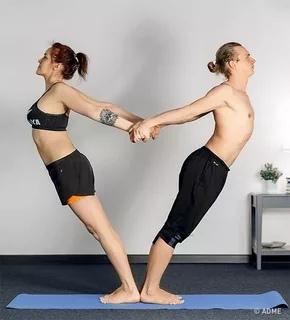 Парная йога — обязательно попробуйте, изображение №2