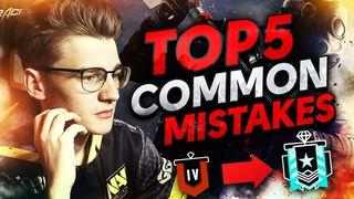 Top 5 Common Mistakes (Rainbow Six Siege Tips by NAVI Doki)