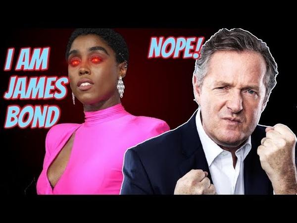 Piers Morgan SLAMS Crazy Feminist Over Female James Bond Comments