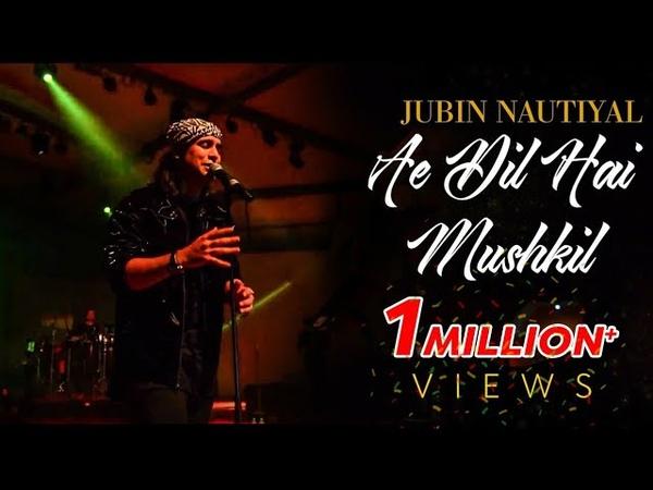 Ae Dil Hai Mushkil Jubin Nautiyal Live Pritam Alcheringa 2020 IIT Guwahati