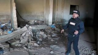 Российские военные в Сирии уничтожили гигантскую пещеру- госпиталь боевиков