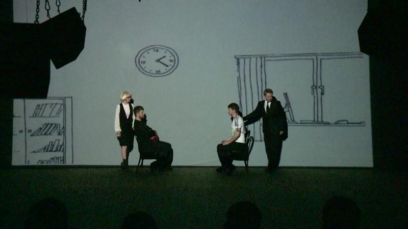 Эскиз спектакля по пьесе Преодоление себя авторы Евгения Балова и Сарюна Жамьянова