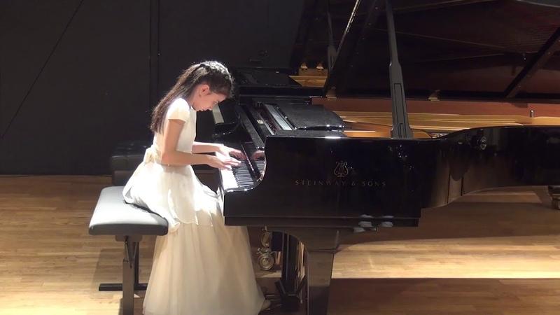 24 11 2018 Alexandra Dovgan' in concert in the Chamber Hall of the EAMT Tallinn Estonia