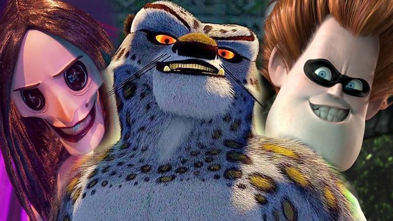 ТОП 10 злодеев в истории мультфильмов Pixar Disney DreamWorks и т д