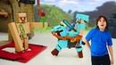Возвращение брони - майнкрафт мультики онлайн про приключения Стива. Игра для мальчиков minecraft