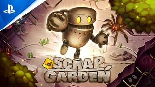 Scrap Garden - Release Trailer | PS4