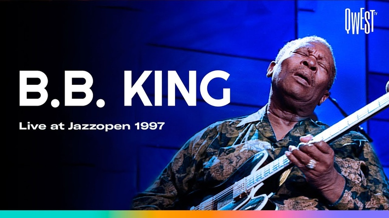 B B King The Thrill Is Gone Why I Sing The Blues Live 1997 Qwest TV