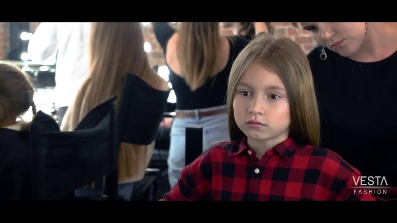 Съёмка тестов модель Шпакова Лилия детское модельное агентство Vesta Fashion